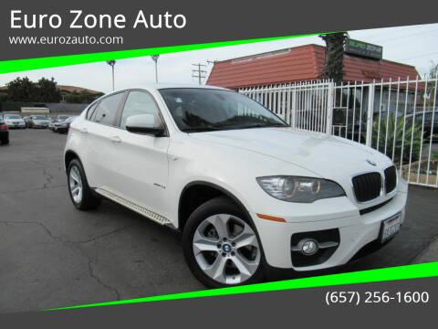 2011 BMW X6 for sale at Euro Zone Auto in Stanton CA