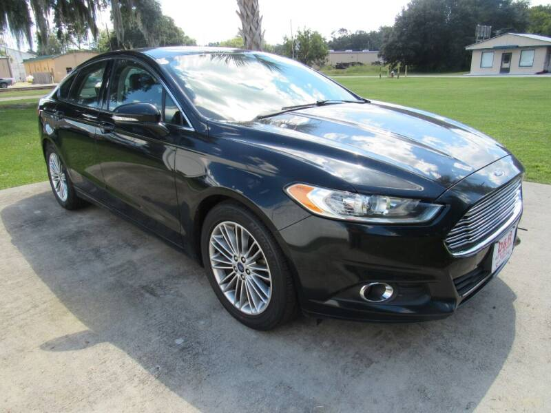 2014 Ford Fusion for sale at D & R Auto Brokers in Ridgeland SC