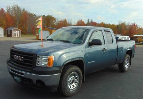 2012 GMC Sierra 1500 for sale at Greg's Auto Sales in Searsport ME