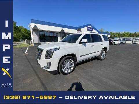 2016 Cadillac Escalade for sale at Impex Auto Sales in Greensboro NC