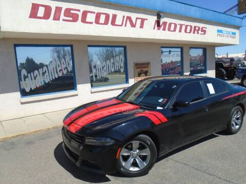 2016 Dodge Charger for sale at Discount Motors in Pueblo CO