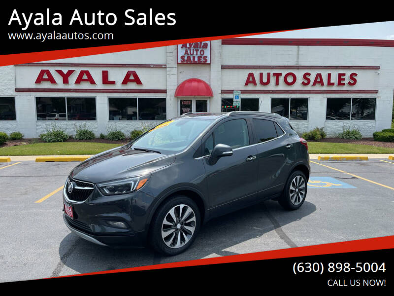 2017 Buick Encore for sale at Ayala Auto Sales in Aurora IL