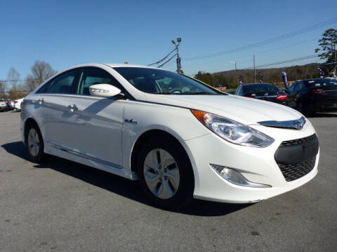 2014 Hyundai Sonata Hybrid for sale at Viles Automotive in Knoxville TN