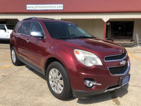 2011 Chevrolet Equinox for sale at PITTMAN MOTOR CO in Lindale TX