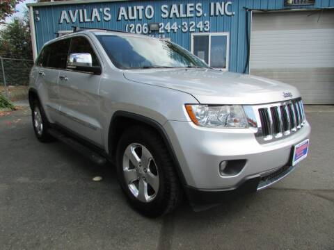 2011 Jeep Grand Cherokee for sale at Avilas Auto Sales Inc in Burien WA