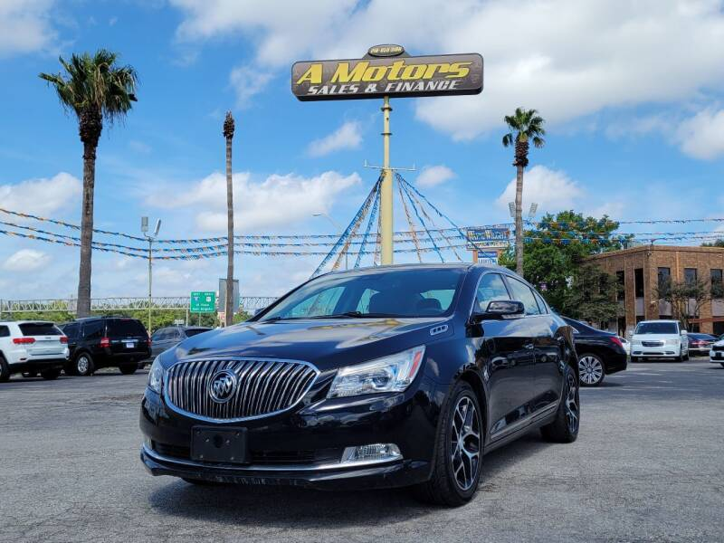 2016 Buick LaCrosse for sale at A MOTORS SALES AND FINANCE in San Antonio TX