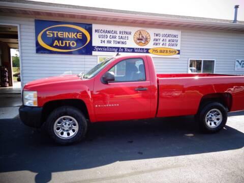 2008 Chevrolet Silverado 1500 for sale at STEINKE AUTO INC. - Steinke Auto Inc (South) in Clintonville WI