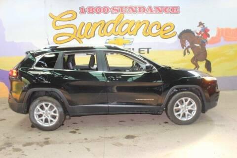 2017 Jeep Cherokee for sale at Sundance Chevrolet in Grand Ledge MI