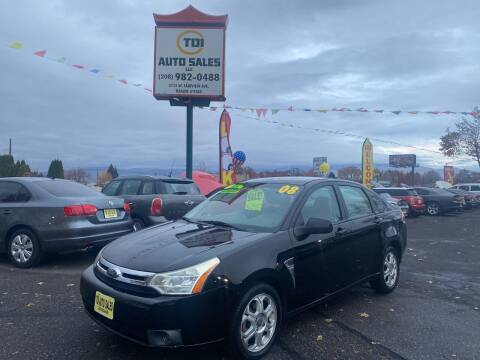 2008 Ford Focus for sale at TDI AUTO SALES in Boise ID