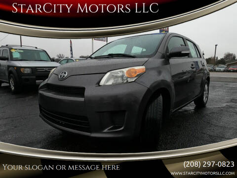 2010 Scion xD for sale at StarCity Motors LLC in Garden City ID