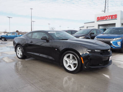 2020 Chevrolet Camaro for sale at SIMOTES MOTORS in Minooka IL