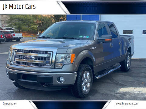 2013 Ford F-150 for sale at JK Motor Cars in Pittsburgh PA