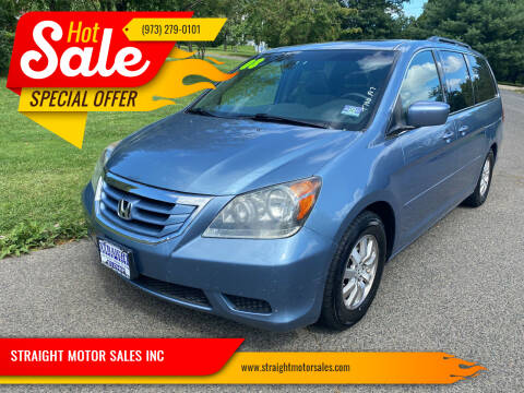 2008 Honda Odyssey for sale at STRAIGHT MOTOR SALES INC in Paterson NJ