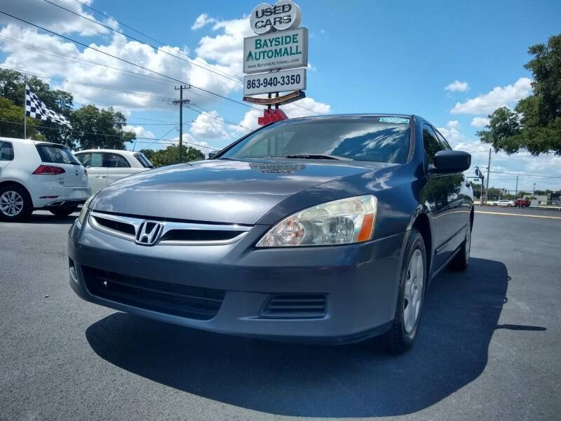2006 Honda Accord for sale at BAYSIDE AUTOMALL in Lakeland FL