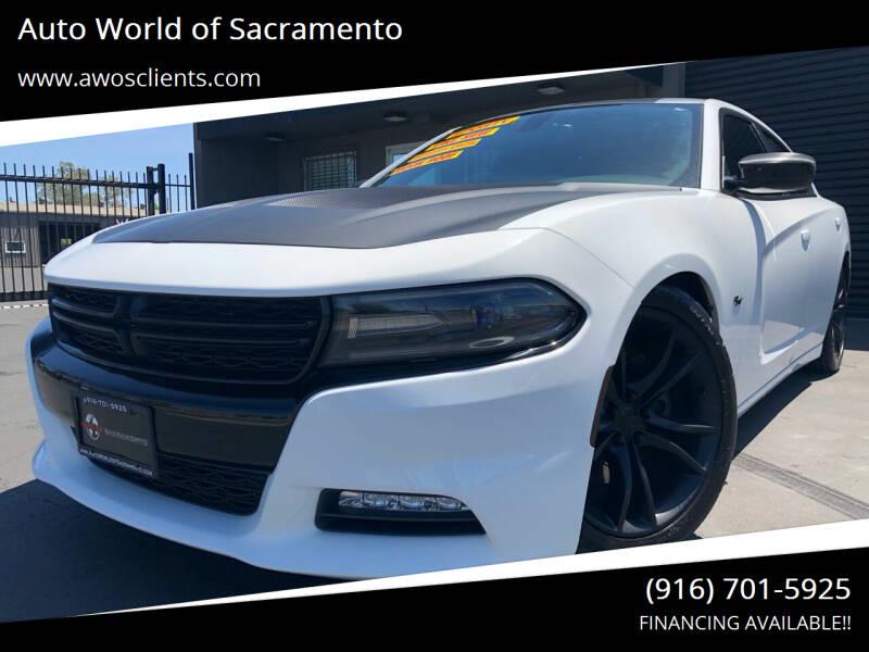 2016 Dodge Charger for sale at Auto World of Sacramento Stockton Blvd in Sacramento CA