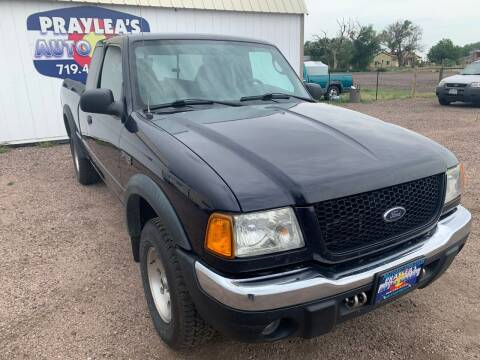 2002 Ford Ranger for sale at Praylea's Auto Sales in Peyton CO