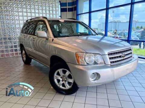 2001 Toyota Highlander for sale at iAuto in Cincinnati OH