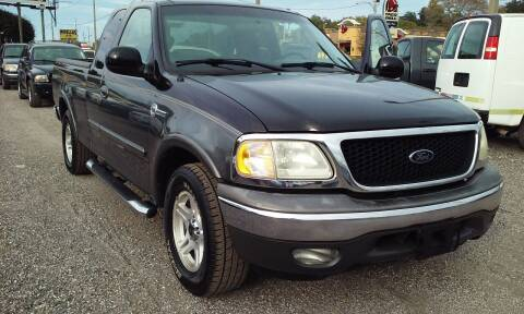 2003 Ford F-150 for sale at Pinellas Auto Brokers in Saint Petersburg FL