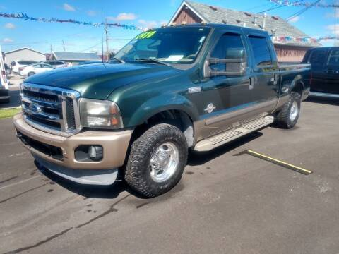2002 Ford F-250 Super Duty for sale at Auto Pro Inc in Fort Wayne IN