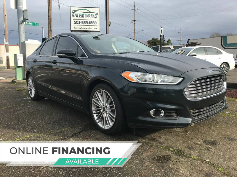 2014 Ford Fusion for sale at Salem Auto Market in Salem OR