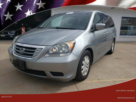 2010 Honda Odyssey for sale at Best Royal Car Sales in Dallas TX