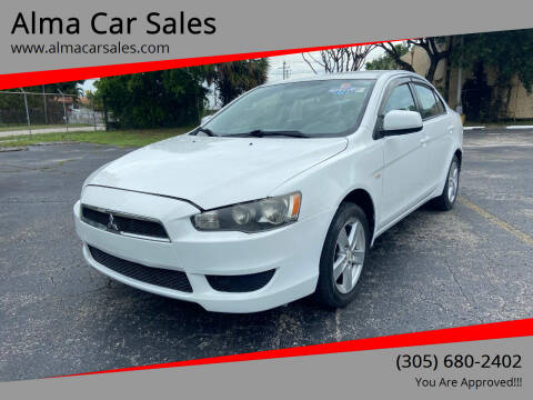 2009 Mitsubishi Lancer for sale at Alma Car Sales in Miami FL