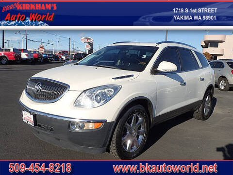 2010 Buick Enclave for sale at Bruce Kirkham Auto World in Yakima WA