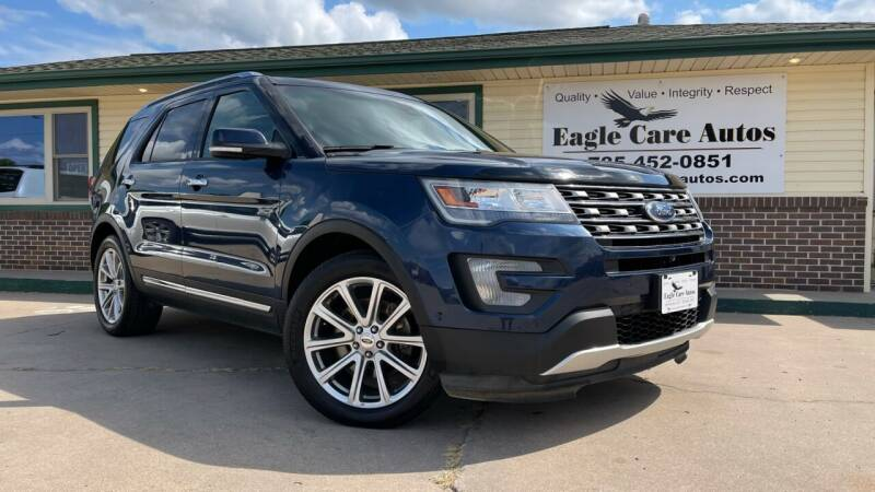 2016 Ford Explorer for sale at Eagle Care Autos in Mcpherson KS