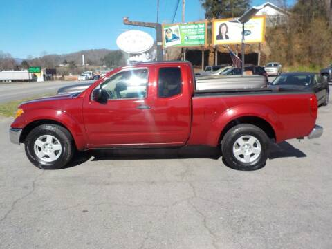 2008 Nissan Frontier for sale at EAST MAIN AUTO SALES in Sylva NC