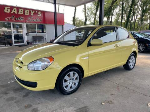 2010 Hyundai Accent for sale at GABBY'S AUTO SALES in Valparaiso IN