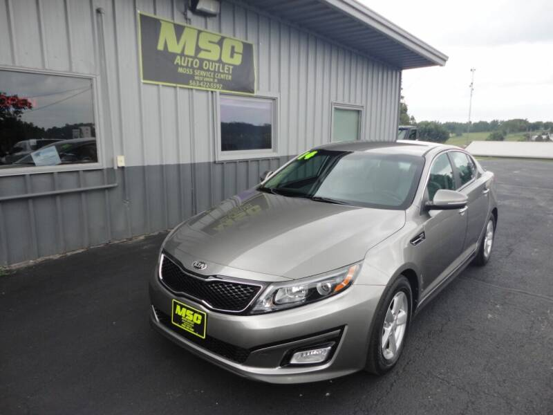 2014 Kia Optima for sale at Moss Service Center-MSC Auto Outlet in West Union IA