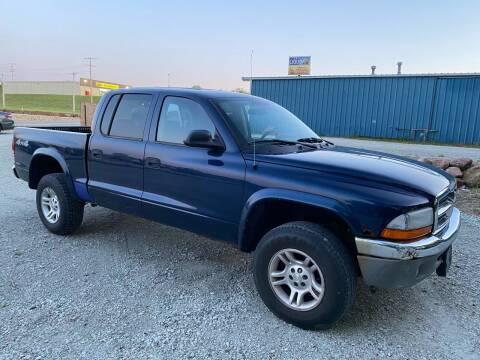 2004 Dodge Dakota for sale at Kansas Car Finder in Valley Falls KS