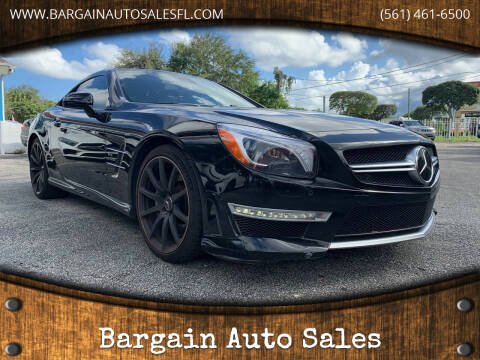 2013 Mercedes-Benz SL-Class for sale at Bargain Auto Sales in West Palm Beach FL