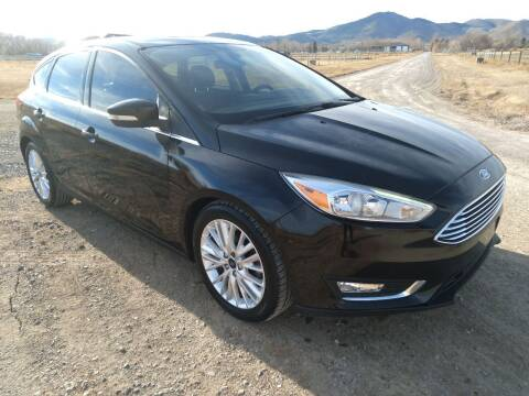 2016 Ford Focus for sale at Kevs Auto Sales in Helena MT