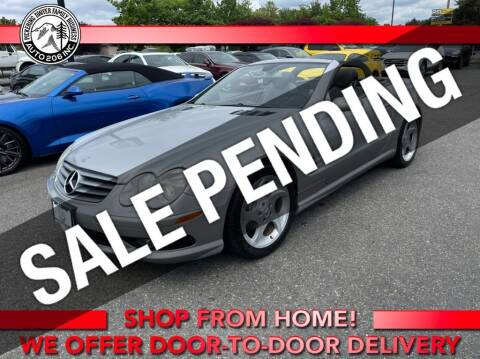 2005 Mercedes-Benz SL-Class for sale at Auto 206, Inc. in Kent WA