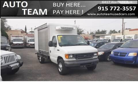 2007 Ford E-350 for sale at AUTO TEAM in El Paso TX