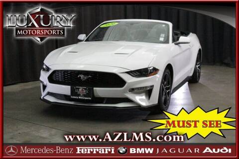 2020 Ford Mustang for sale at Luxury Motorsports in Phoenix AZ