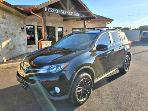 2014 Toyota RAV4 for sale at Performance Motors Killeen Second Chance in Killeen TX