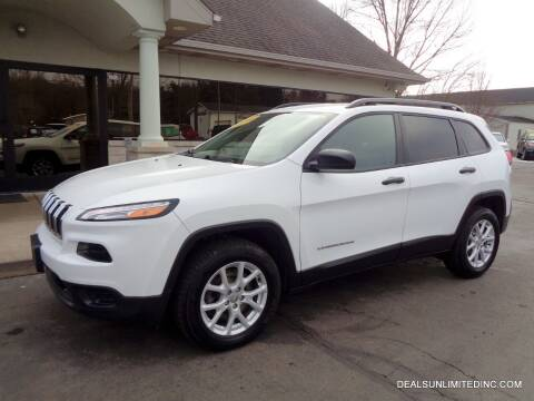 2017 Jeep Cherokee for sale at DEALS UNLIMITED INC in Portage MI