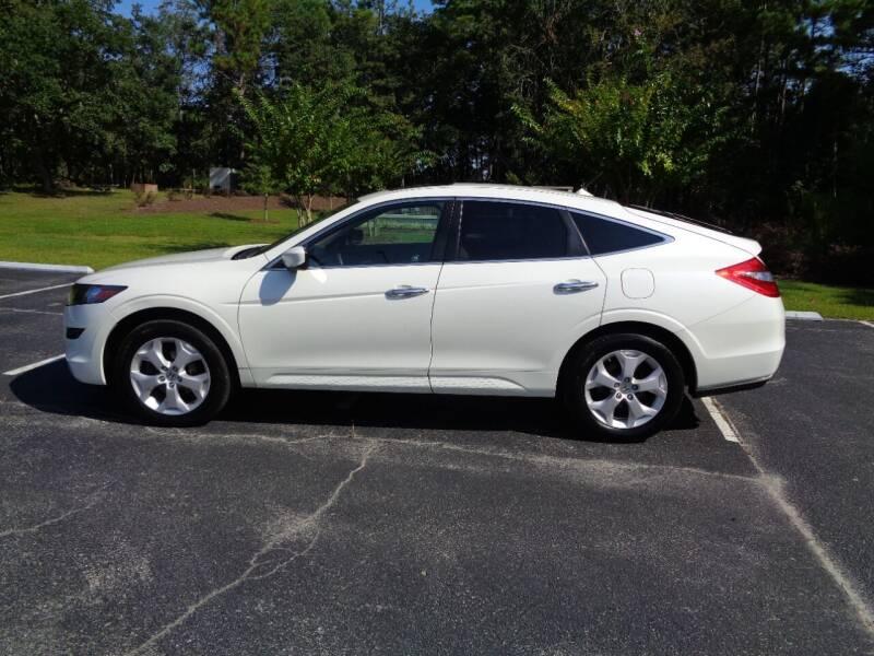 2012 Honda Crosstour for sale at BALKCUM AUTO INC in Wilmington NC