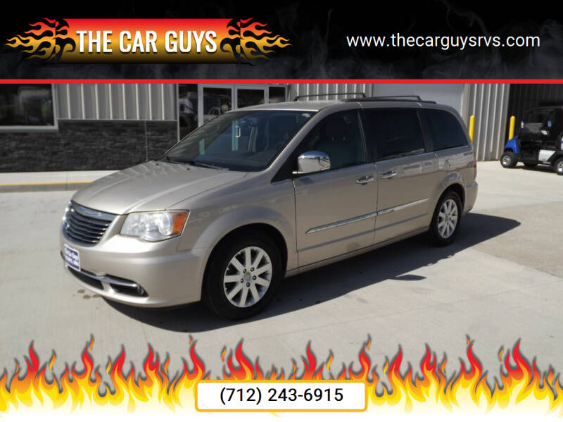 2012 Chrysler Town and Country for sale at The Car Guys in Atlantic IA