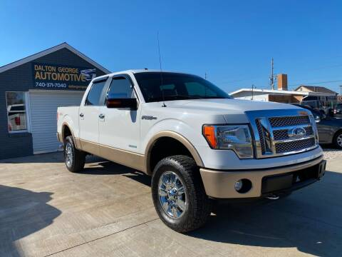 2012 Ford F-150 for sale at Dalton George Automotive in Marietta OH