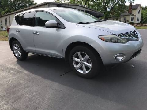 2009 Nissan Murano for sale at Happy Days Auto Sales in Piedmont SC