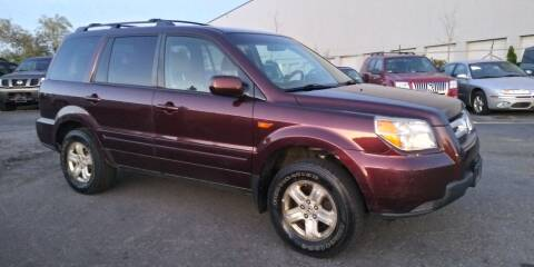 2008 Honda Pilot for sale at JG Motors in Worcester MA