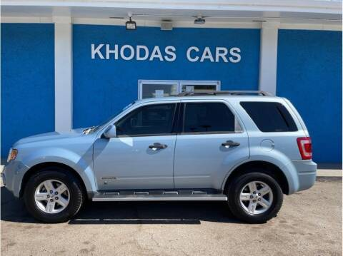2008 Ford Escape Hybrid for sale at Khodas Cars in Gilroy CA