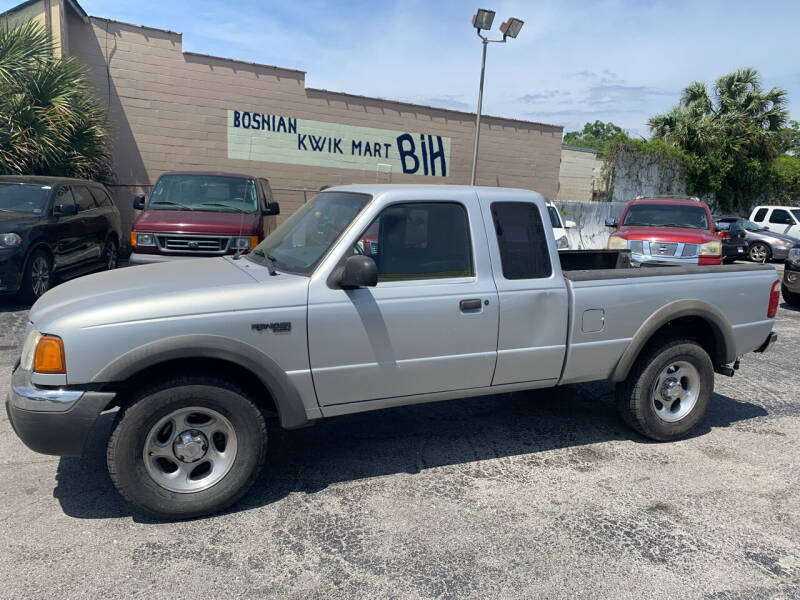 2002 Ford Ranger for sale at Castle Used Cars in Jacksonville FL