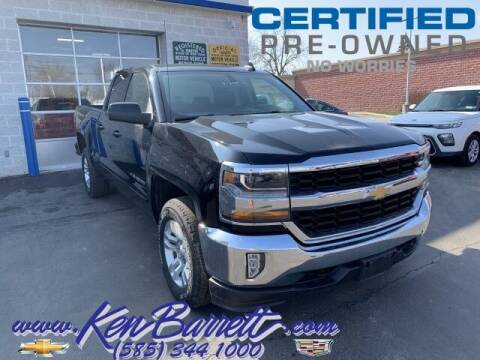 2018 Chevrolet Silverado 1500 for sale at KEN BARRETT CHEVROLET CADILLAC in Batavia NY