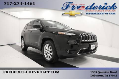 2017 Jeep Cherokee for sale at Lancaster Pre-Owned in Lancaster PA