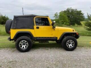 2006 Jeep Wrangler for sale at CAVENDER MOTORS in Van Alstyne TX