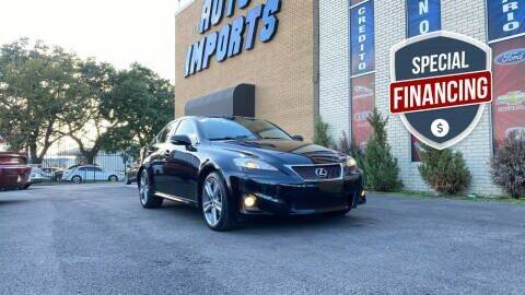 2012 Lexus IS 250 for sale at Auto Imports in Houston TX